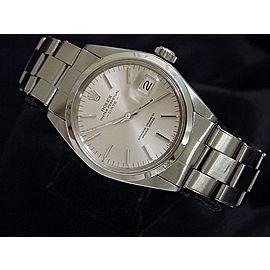 Rolex Date 16030 Vintage 34mm Mens Watch