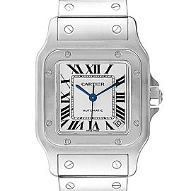 Cartier Santos Galbee XL Automatic Steel Unisex Watch W20098D6