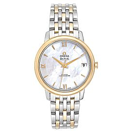 Omega DeVille Prestige Steel Yellow Gold Men's Watch 424.20.33.20.05.001