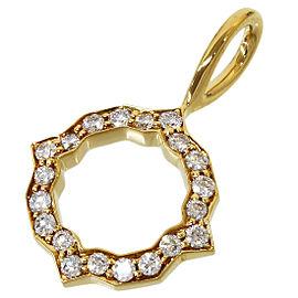 Harry Winston Diamonds Charm / Pendant Top in 18K Yellow Gold w/Cert
