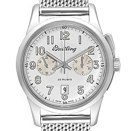 Breitling Transocean 1915 Limited Edition Mens Watch AB1411 Box Papers
