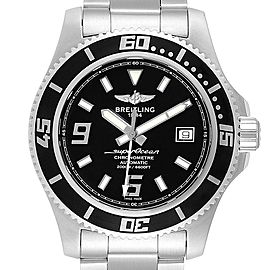 Breitling Aeromarine Superocean 44 Steel Mens Watch A17391 Card