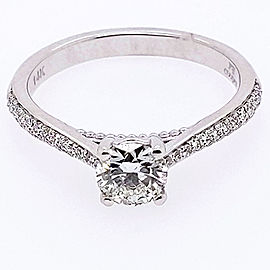 Jeff Cooper RP-1504RR5.2C14 14k White Gold Diamond Ring