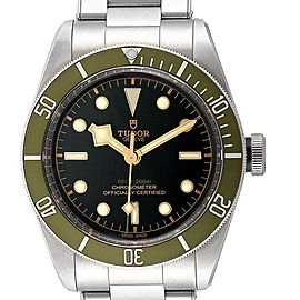 Tudor Heritage Black Bay Harrods Special Edition Mens Watch 79230G Unworn