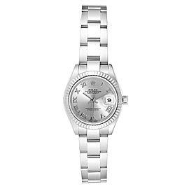 Rolex Datejust 28 Steel White Gold Oyster Bracelet Ladies Watch 279174