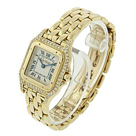 Cartier Panthere 18K Yellow Gold 22mm Womens Watch