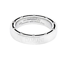Damiani D.Side 18K White Gold Diamond Eternity Ring