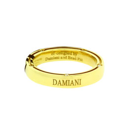 Damiani D.side 18K Yellow Gold Diamond Eternity Ring