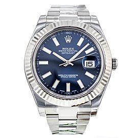 Rolex DateJust II 116334 41mm Stainless Steel/18K White Gold Watch
