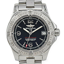 BREITLING Colt Ocean A77380 Date black Dial Quartz Ladies Watch