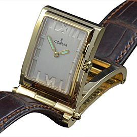 Corum 64.151.56 18K Yellow Gold Quartz Desk Womens Watch