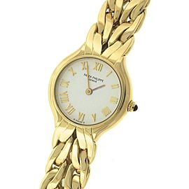 Patek Philippe La Flamme 4816/001 18K Yellow Gold Roman 23mm Quartz Watch