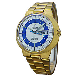 Omega Geneve Dynamic Gold Plated Stainless Steel 41mm Watch
