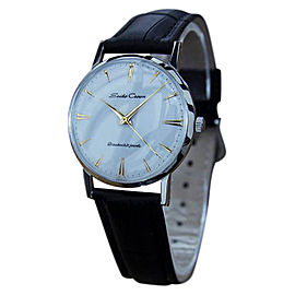 Seiko Crown Stainless Steel Manual Japanese Dress 1950s Mens Watch