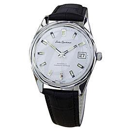 Seiko Sportsman Japanese Manual Stainless Steel Mens 1960s Vintage Watch