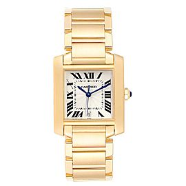 Cartier Tank Francaise Large 18K Yellow Gold Unisex Watch W50001R2