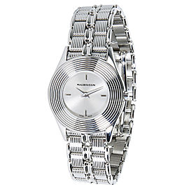 Mauboussin Round R.62682 Stainless Steel 25mm Womens Watch