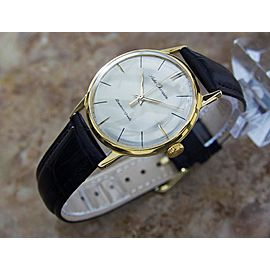 Seiko Champion Gold Plated & Stainless Steel Manual 35mm Mens Watch Year 1960