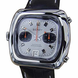 Sidney MX91 Stainless Steel Manual Vintage 42mm Mens Watch