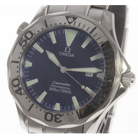 Omega Seamaster 2265.80 Stainless Steel with Blue Dial 41mm Mens Watch