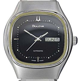 Bulova Vintage 37mm Mens Watch