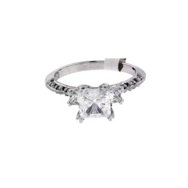 Tacori 950 Platinum .31ct. Diamond Engagement Ring Size 6.25