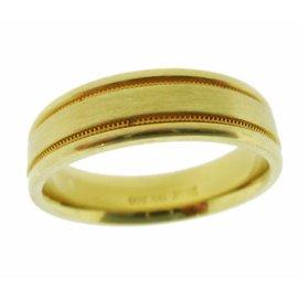 Scott Kay 19K Yellow Gold Band Ring Size 10