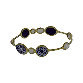 Ippolita 18K Yellow Gold with Rock Candy Cutouts Bangle Bracelet