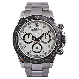 Rolex Daytona 116520 Stainless Steel White/Black Dial 40mm Mens Watch