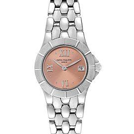 Patek Philippe Neptune Steel Copper Dial Ladies Watch 4880