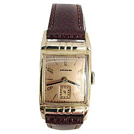 Longines 10K Goldfilled Vintage 21mm Mens Watch