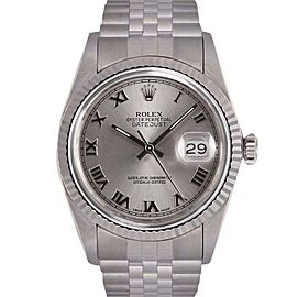 Rolex Datejust Stainless Steel/18K White Gold Automatic 36mm Mens Watch