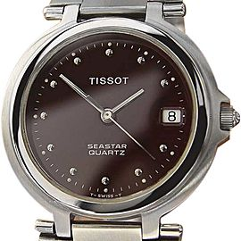 Tissot Seastar Stainless Steel Quartz 32mm Unisex Watch