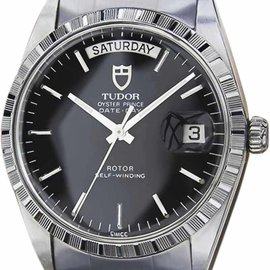 Rolex Tudor Oyster Prince Stainless Steel 35mm Mens Watch 1984
