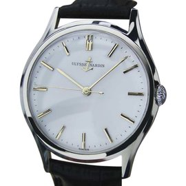 Ulysse Nardin Stainless Steel Manual 35mm Mens Watch 1960s