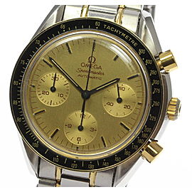 Omega Speedmaster 3310.10 18K Gold Plated / Stainless Steel Automatic 39mm Mens Watch