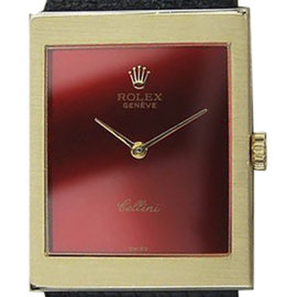 Rolex Cellini 18K Gold Manual 23mm Mens Watch 1972