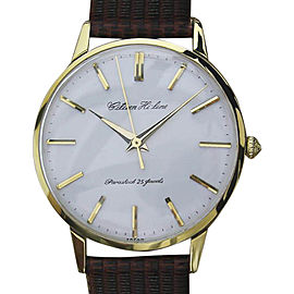 Citizen Classic MO6 Gold Plated Stainless Steel with Leather Manual Vintage 36mm Mens Watch
