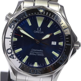 Omega Seamaster 2265.80 Stainless Steel Blue Dial Quartz 41mm Men's Watch