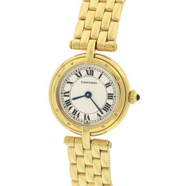 Cartier Cougar Panthere Vendome 18K Yellow Gold Quartz 23mm Womens Watch