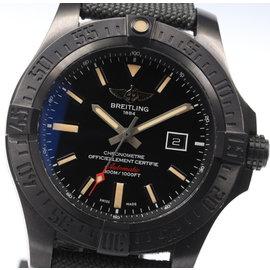 Breitling Avenger V17310 Titanium 49mm Automatic Mens Watch