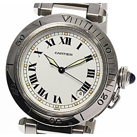 Cartier Pasha W31005H3 Stainless Steel Automatic 38mm Mens Watch
