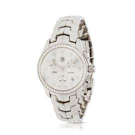 Tag Heuer Link Chrono CJF1314 Stainless Steel Diamonds Quartz 33mm Women's Watch