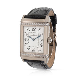 Jaeger-LeCoultre Duetto 269.3.54 18K White Gold 25mm Unisex Watch