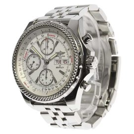 Breitling Bentley A13362 Stainless Steel Automatic 45mm Mens Watch