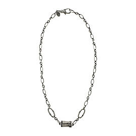 John Hardy Bamboo 925 Sterling Silver Chain Link Necklace