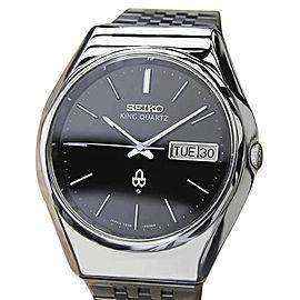 Seiko King 5856 8001 Vintage 36mm Mens Watch