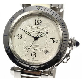 Cartier Pasha W31031H3 Stainless Steel Automatic 38mm Mens Watch