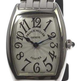 Franck Muller Tonneau Carbex 1752QZ Stainless Steel Quartz 25mm Womens Watch