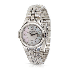 Patek Philippe Sculpture 4891/1A-001 Stainless Steel Quartz 25mm Womens Watch